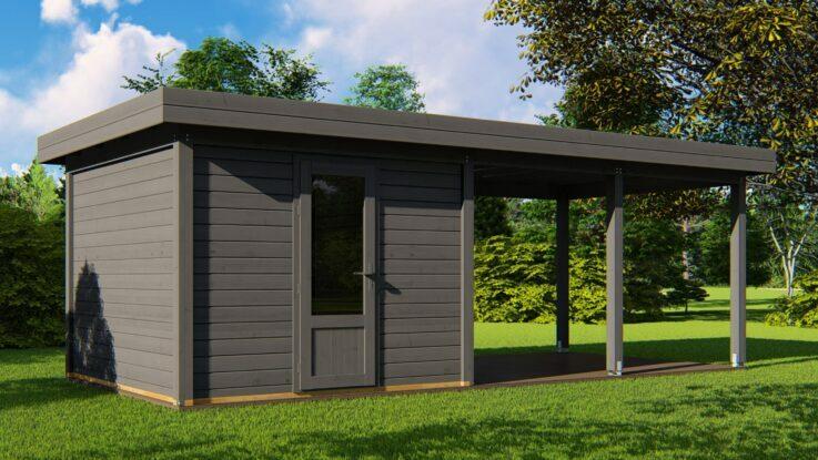Flexible - modular houses